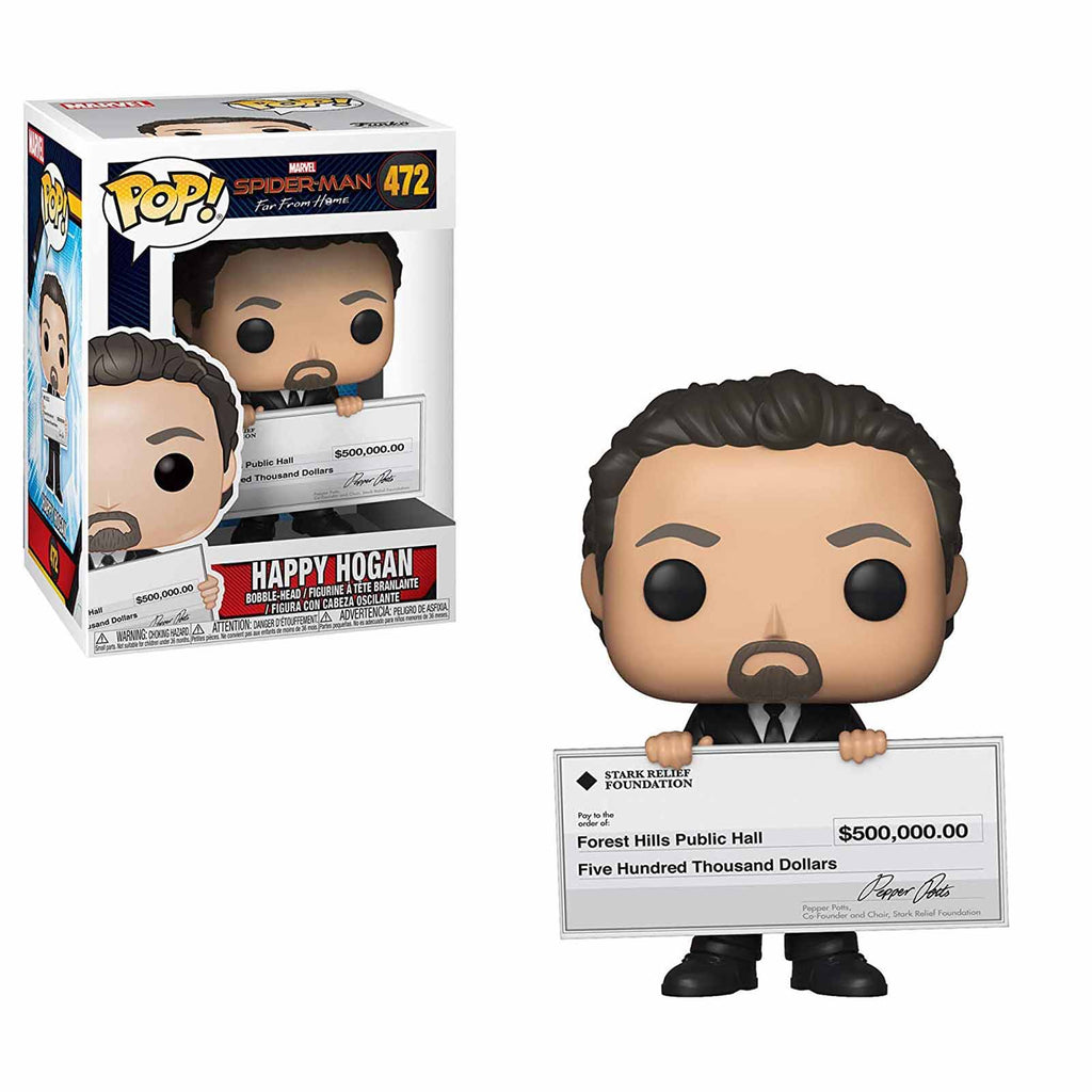 Funko Spider-Man Far From Home POP Happy Hogan Vinyl Figure