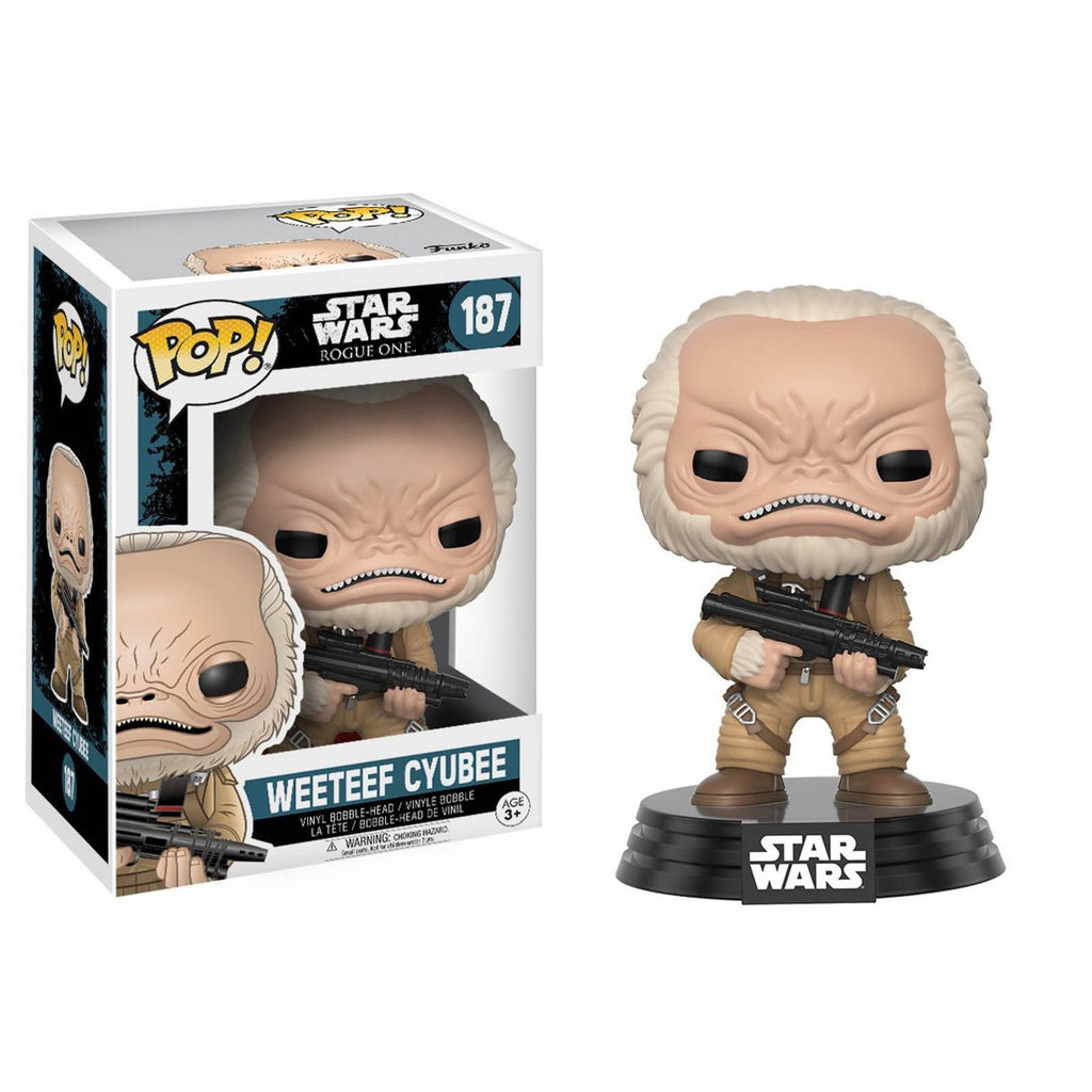 Funko Star Wars Rogue One POP Weeteef Cyubee Bobble Vinyl Figure
