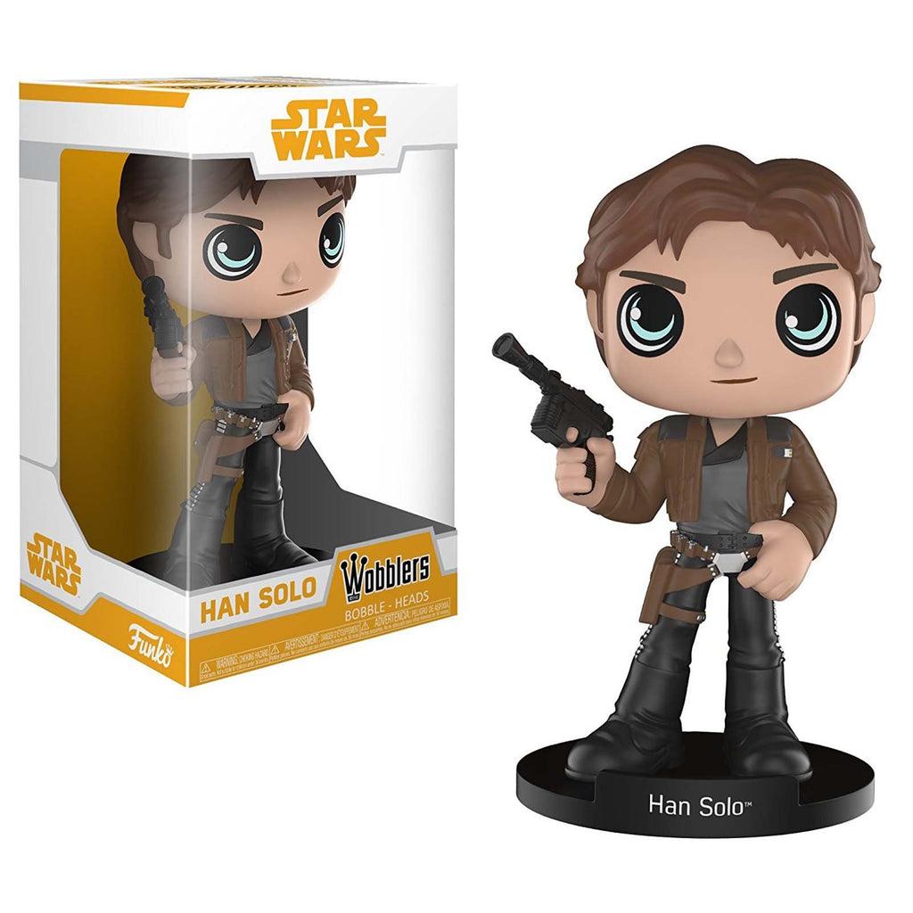 Funko Star Wars Solo Movie Wobblers Han Solo Bobble Head Figure
