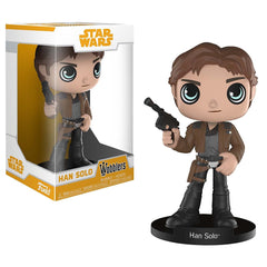 Funko Wacky Wobbler - Funko Star Wars Solo Movie Wobblers Han Solo Bobble Head Figure