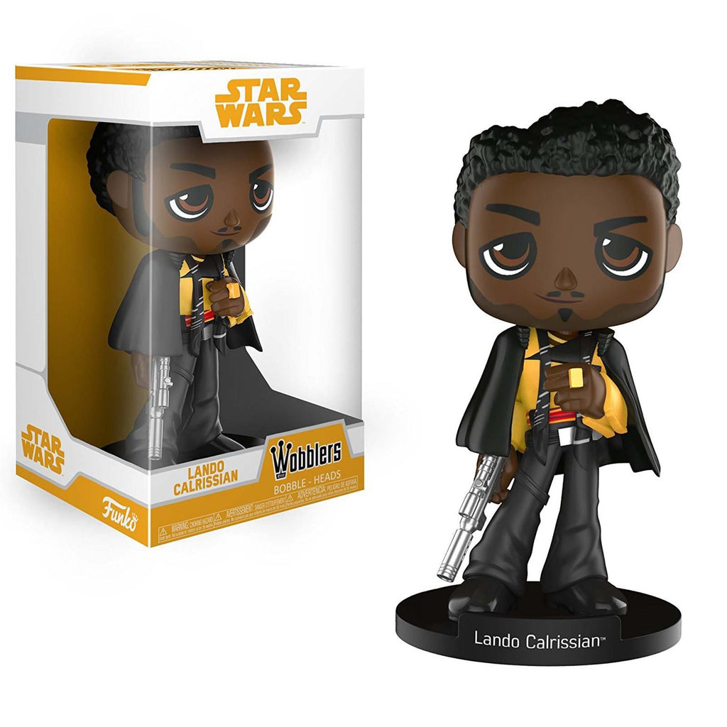 Funko Wacky Wobbler - Funko Star Wars Solo Movie Wobblers Lando Calrissian Bobble Head Figure