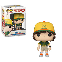 Funko Stranger Things POP Dustin At Camp Vinyl Figure