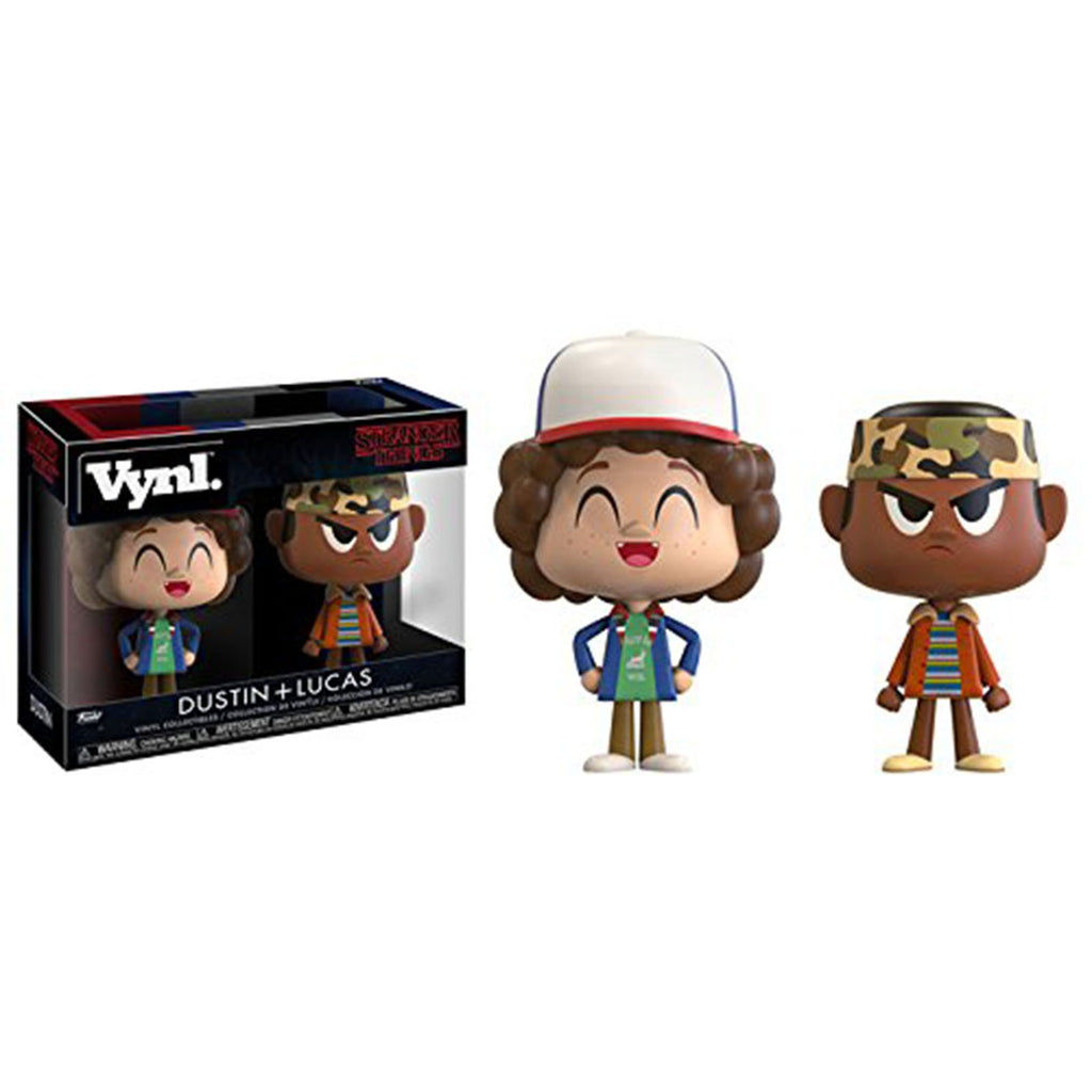 Funko Stranger Things Vynl Dustin Lucas 2 Pack Set
