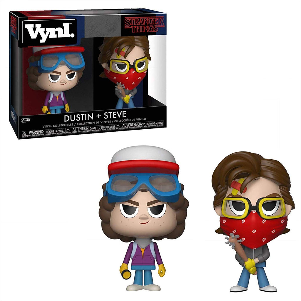 Funko Stranger Things Vynl Dustin Steve Vinyl Figure Set