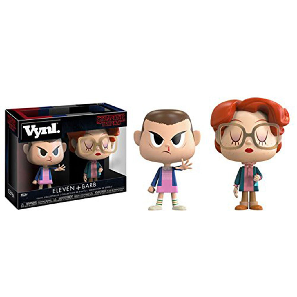 Funko Stranger Things Vynl Eleven And Barb Figure Set