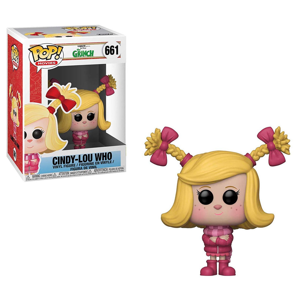 Funko POP Vinyl - Funko The Grinch Movie POP Cindy-Lou Who Vinyl Figure