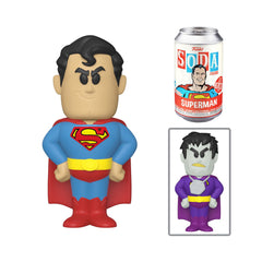 Funko DC Comics Soda Superman Vinyl Figure