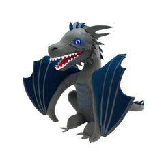 Game Of Thrones Exclusive Icy Viserion Dragon Light Up 9 Inch Plush