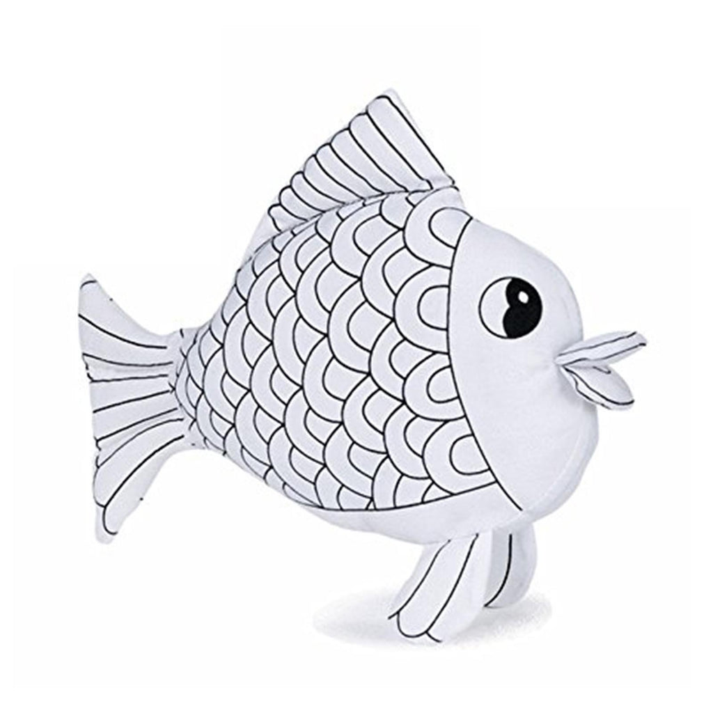 Ganz Fish 6 Inch Plush Mini Coloring Kit