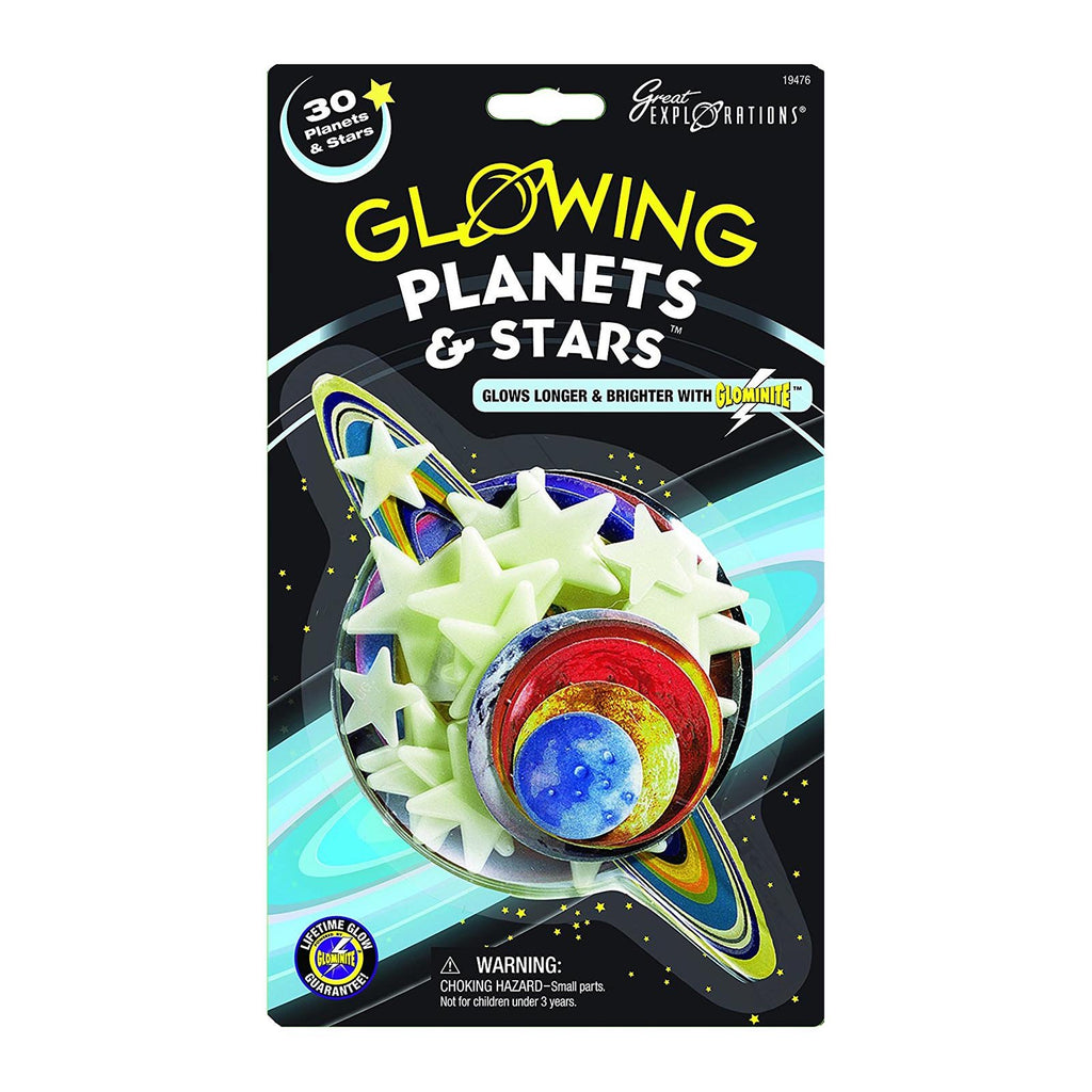 Great Explorations Glowing Planets And Stars 30 Count