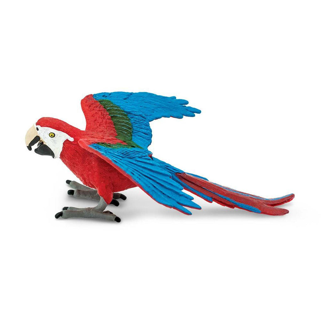Green-Winged Macaw Wings Of The World Birds Figure Safari Ltd