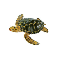 Reptile Figures - Green Sea Turtle Wild Safari Animal Figure Safari Ltd