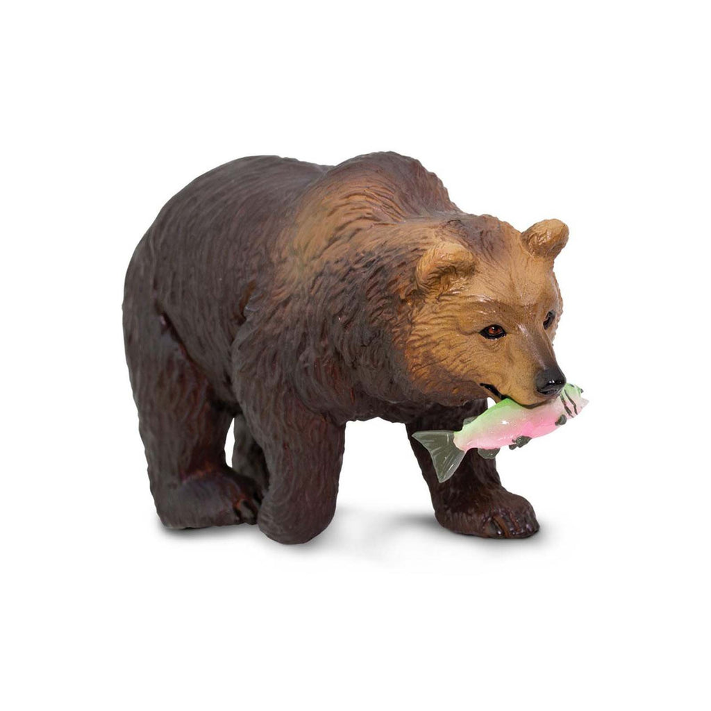 Grizzly Bear Wild Safari Animal Figure Safari Ltd