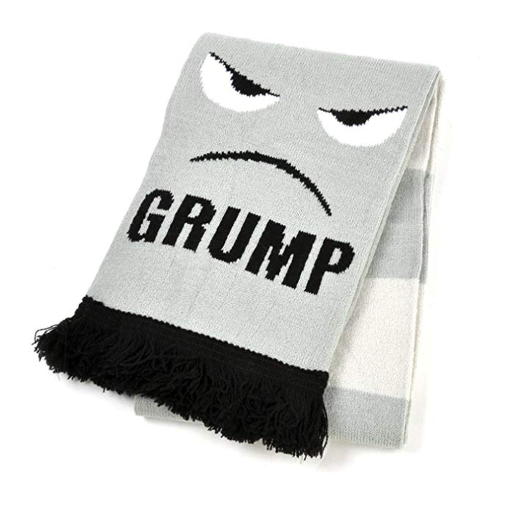 Grump Soft-Knit Acrylic Scarf