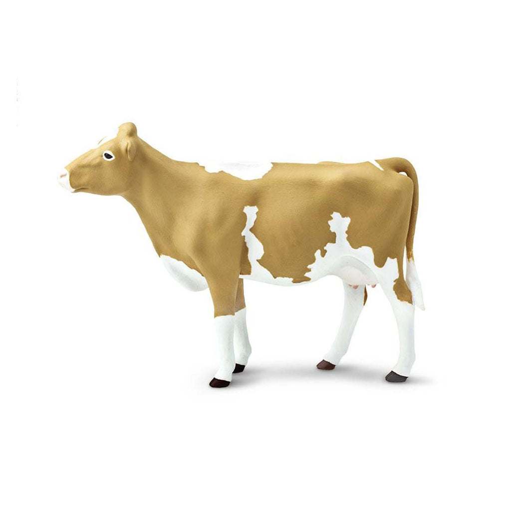 Guernsey Cow Wild Safari Farm Figure Safari Ltd
