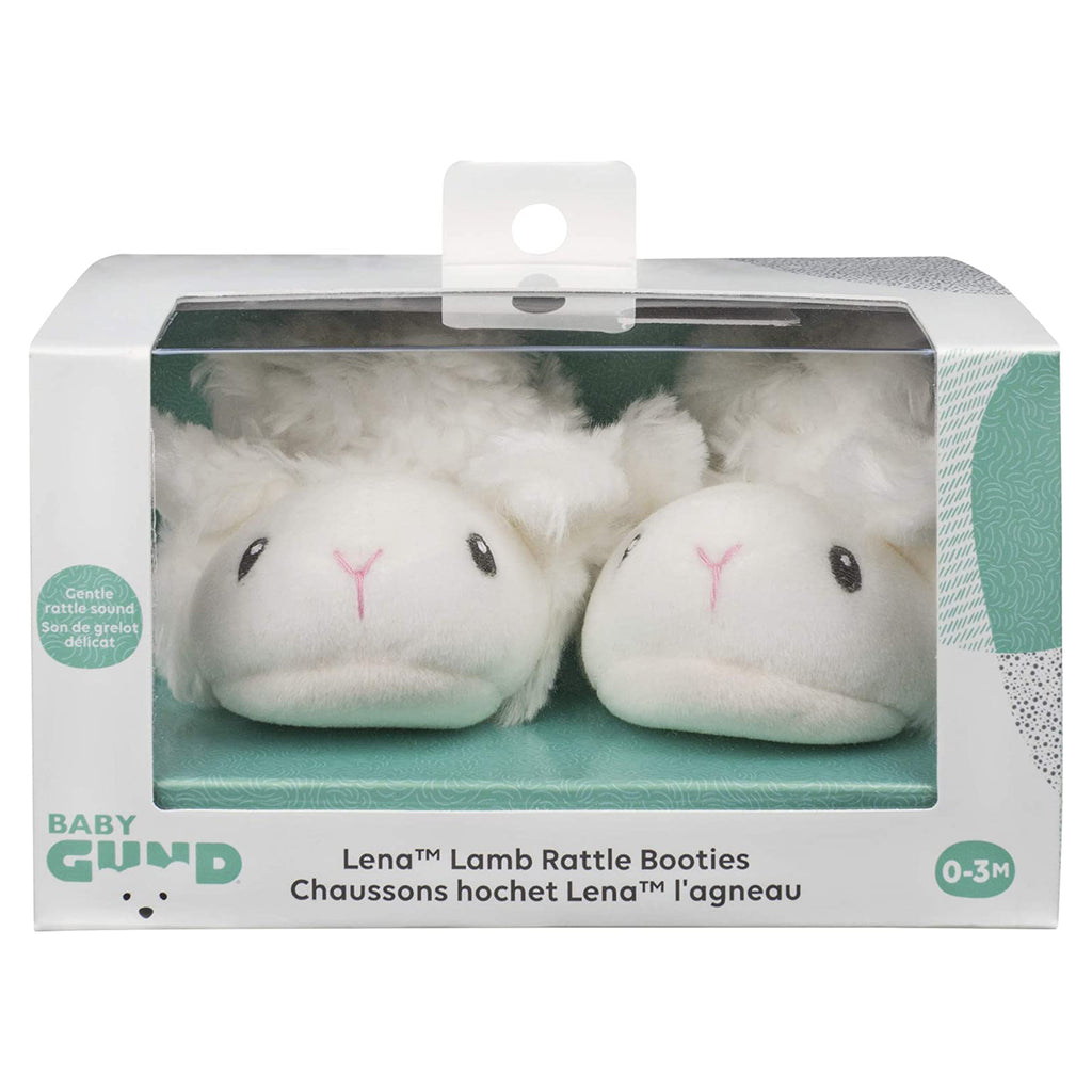 Gund Baby Lena Rattle Booties 6059030