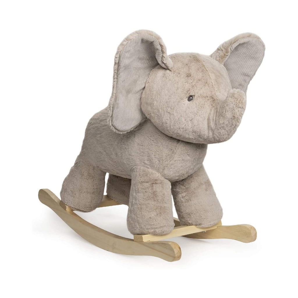 Gund Rocker Elephant Gray 23 Inch Wooden Base Plush Rocker