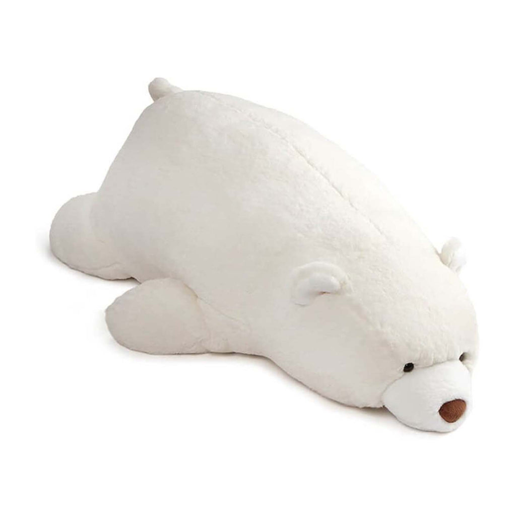 Gund Snuffles Laying Down Polar Bear 27 Inch Plush Figure