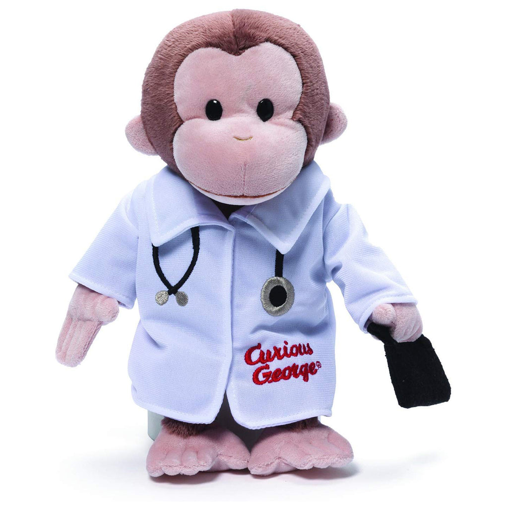 Gund Curious George Doctor 13 Inch Plush
