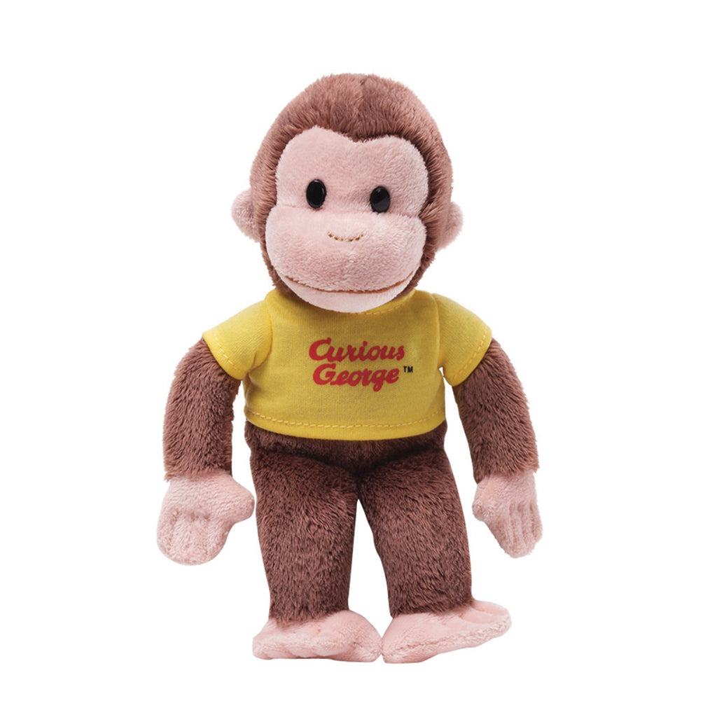Gund Curious George Yellow Shirt 5 inch Plush Figure