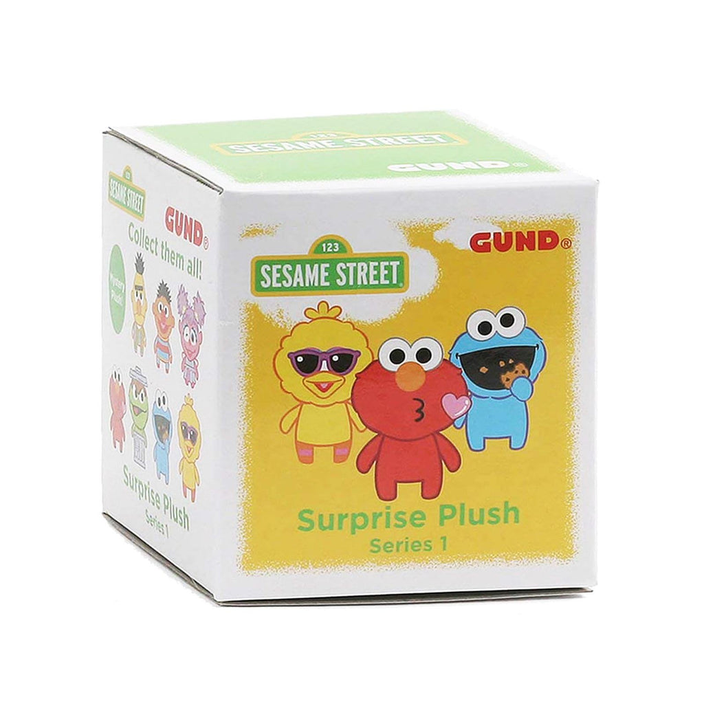 Blind Boxed Mystery Figures - Gund Sesame Street Series 1 Blind Box Mini Plush Figure
