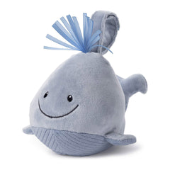 Gund Sleepy Seas Sound And Light Whale 7 Inch Plush