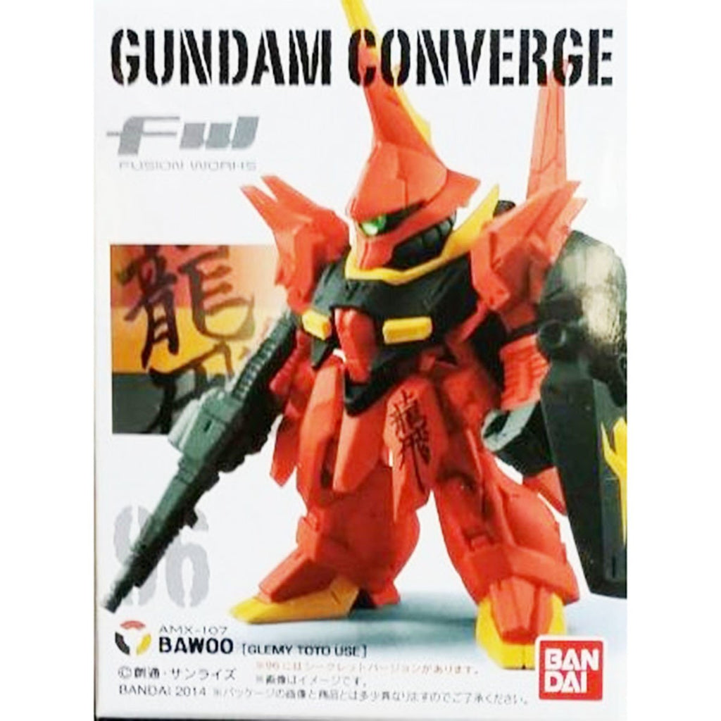 Bandai Action Figures - Gundam Converge Fusion Works Bawoo Mini Figure
