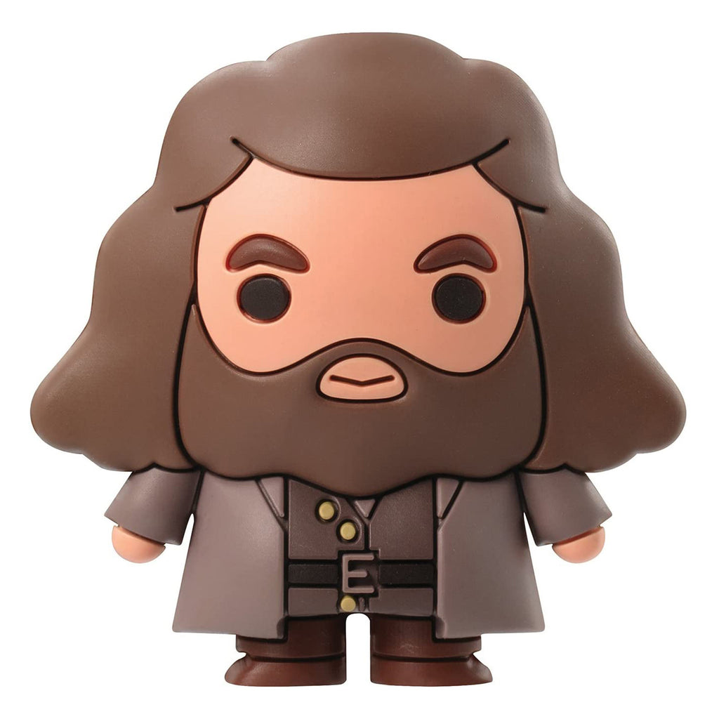 Harry Potter Hagrid 3D Foam Magnet
