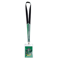 Harry Potter Slytherin Crest Lanyard Card Holder