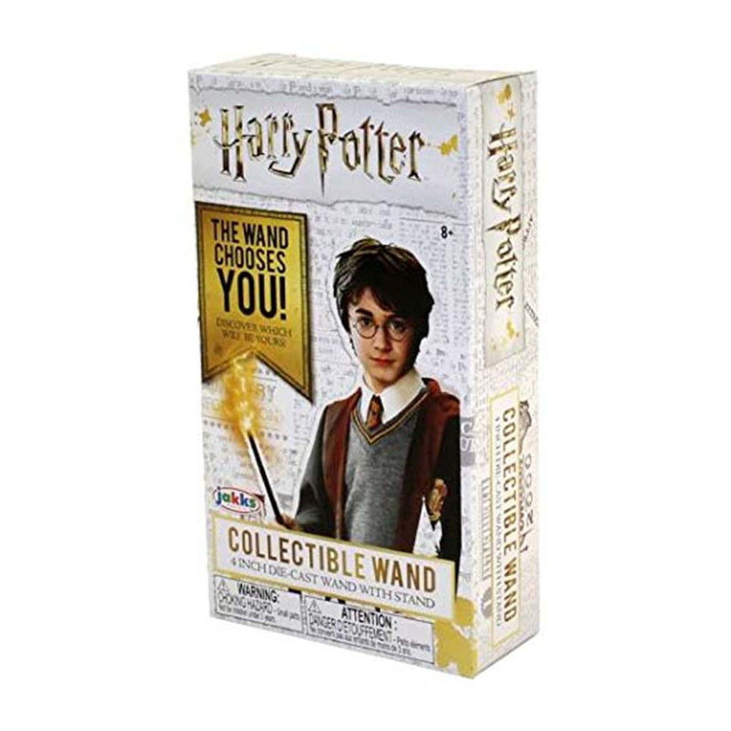 Blind Boxed Mystery Figures - Harry Potter Die-Cast Blind Box 4 Inch Wand With Stand