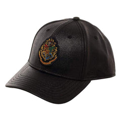 Harry Potter Hogwarts Black Gold Glitter Snapback Hat