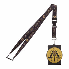 Harry Potter Ministry Of Magic Breakaway Lanyard ID Badge Holder