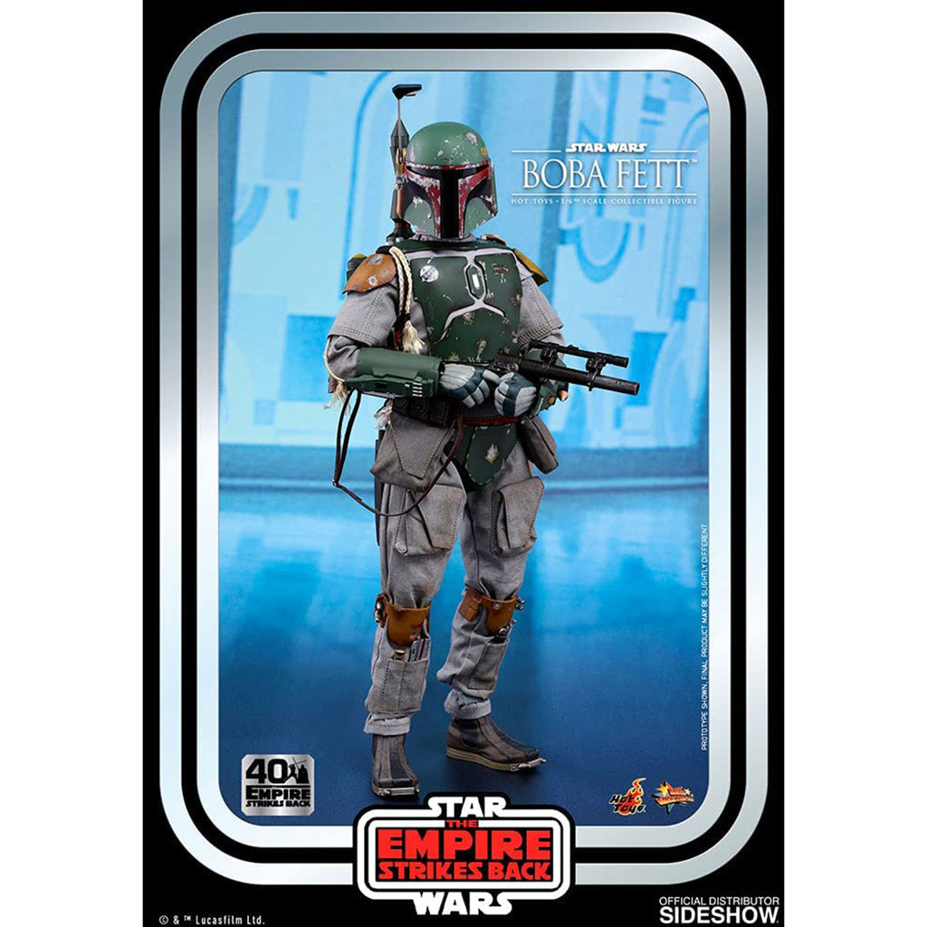 Hot Toys Star Wars Movie Masterpiece Empire Strikes Back Boba Fett Figure