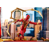 Hot Toys Video Game Masterpiece Spider-Man Iron Spider Armor Figure
