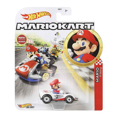 Hot Wheels Mario Kart Mario P-Wing Kart