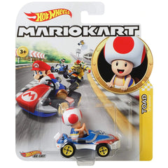 Hot Wheels Mario Kart Toad Sneeker Kart