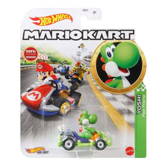 Hot Wheels Mario Kart Yoshi Pipe Frame Kart