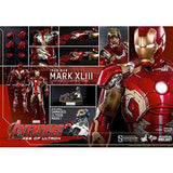 Hot Toys Avengers Ultron Iron Man Mark XLIII 6th Scale Collectible Figure