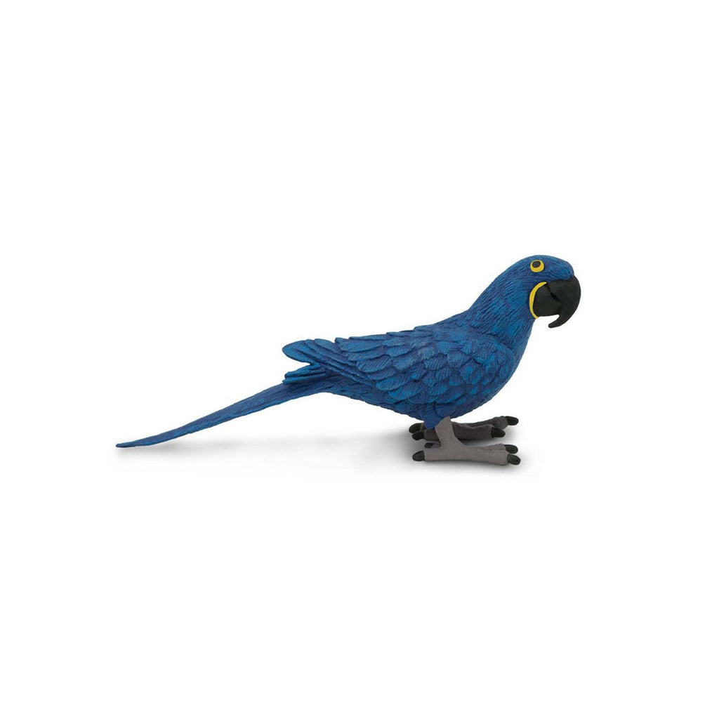Hyacinth Macaw Wings Of The World Birds Figure Safari Ltd