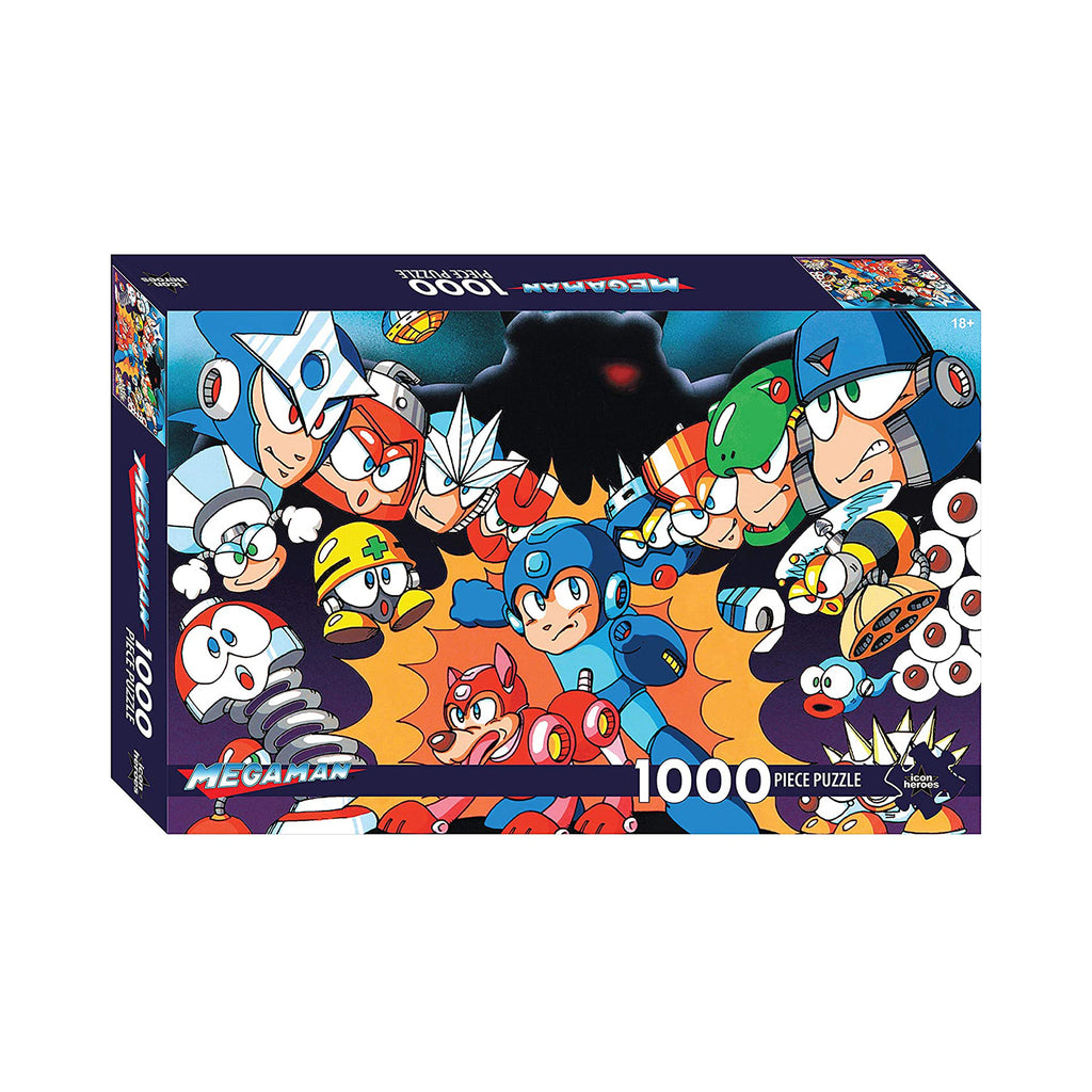 Icon Heroes Mega Man Series 1 1000 Piece Puzzle
