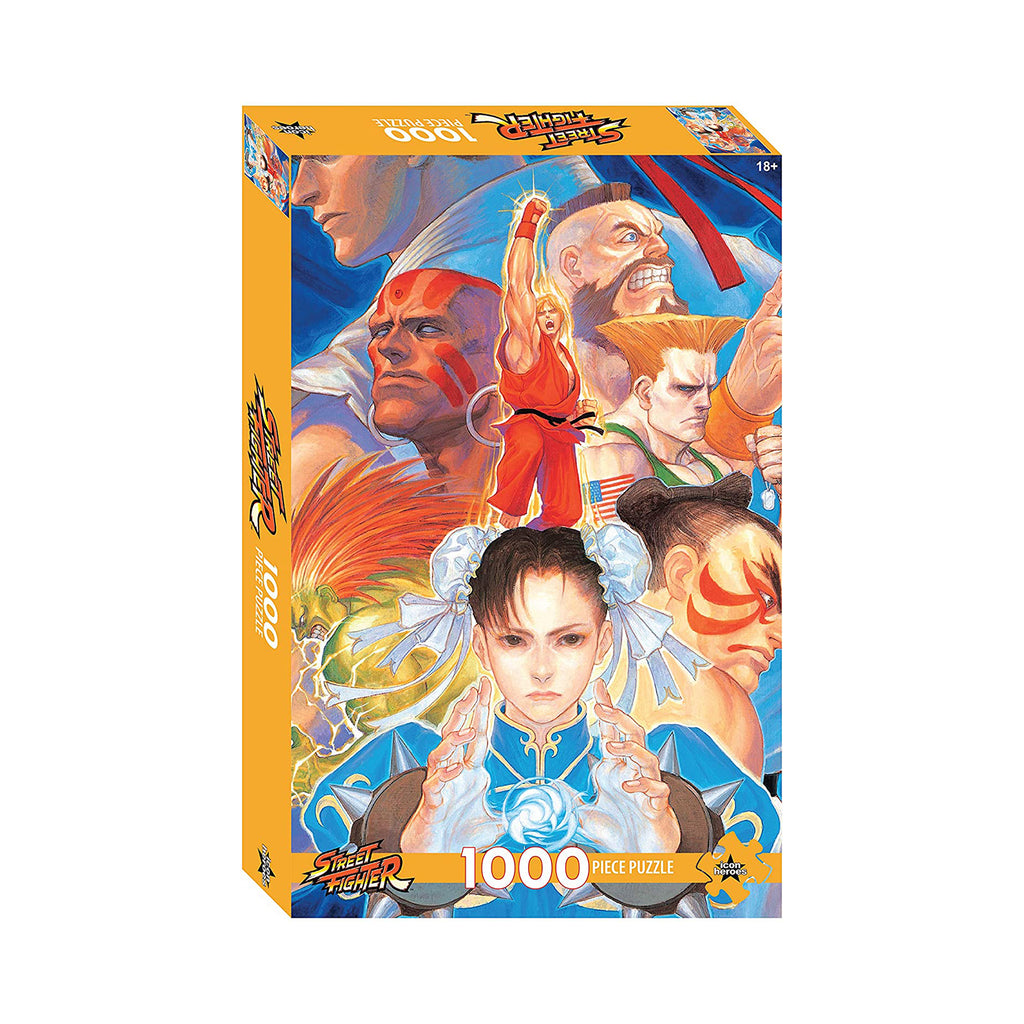 Icon Heroes Street Fighter Series 1 1000 Piece Puzzle