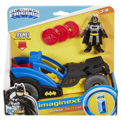 Imaginext DC Super Friends Batman Rally Car Vehicle Set