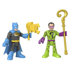Imaginext DC Super Friends Batman The Riddler Figure Set