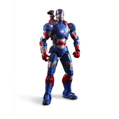 Action Figures - Iron Man 3 Iron Patriot Super Alloy 1/12 Scale Collectible Figure
