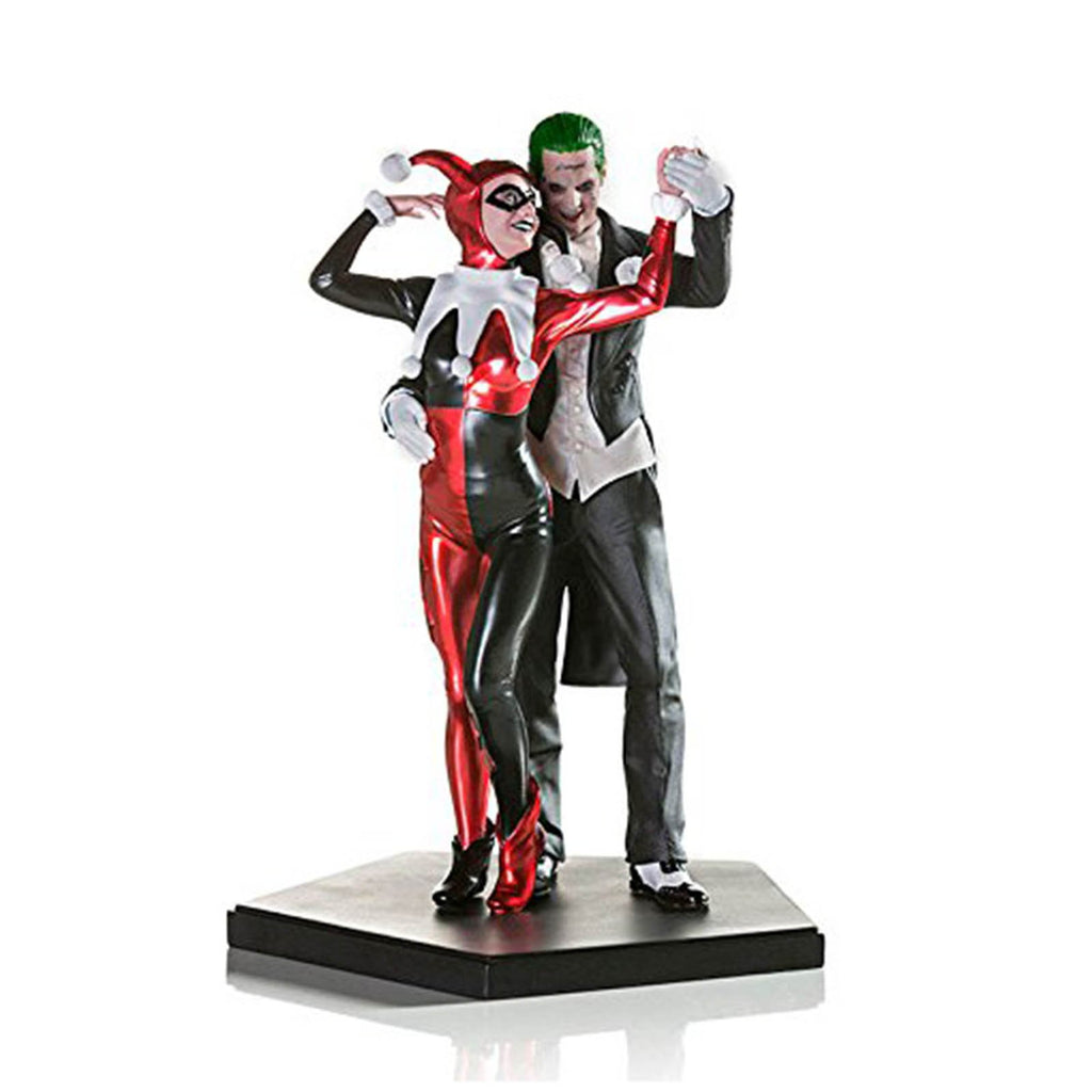 Iron Studios DC Comics Suicide Squad Harley Quinn And Joker Figure