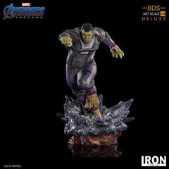 Iron Studios Marvel Avengers End Game Hulk Deluxe BDS Art Statue