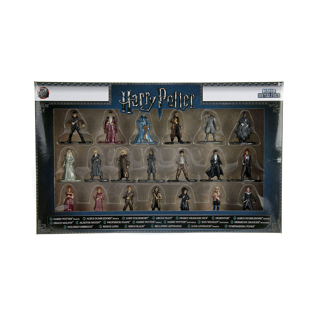 Jada Toys Nano Metalfigs Harry Potter Wave 2 Set Of 20 Diecast Mini Figures