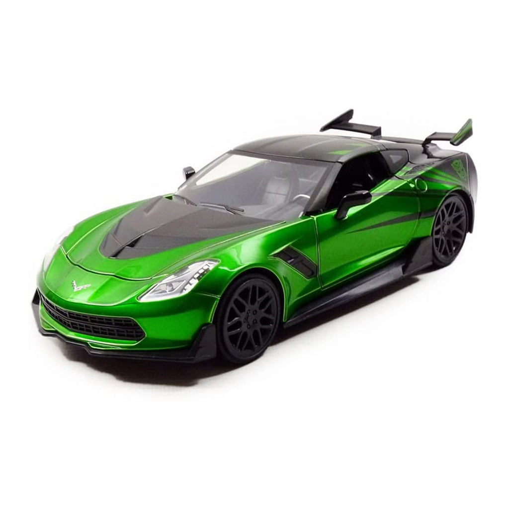 Jada Toys Transformers Crosshairs 2016 Chevy Corvette Stingray 1:24 Diecast Car