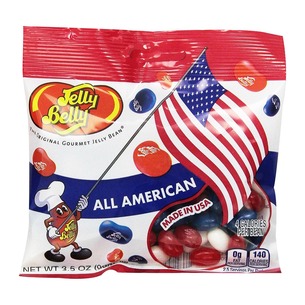 Jelly Belly All American 3.5 oz Flavored Candy