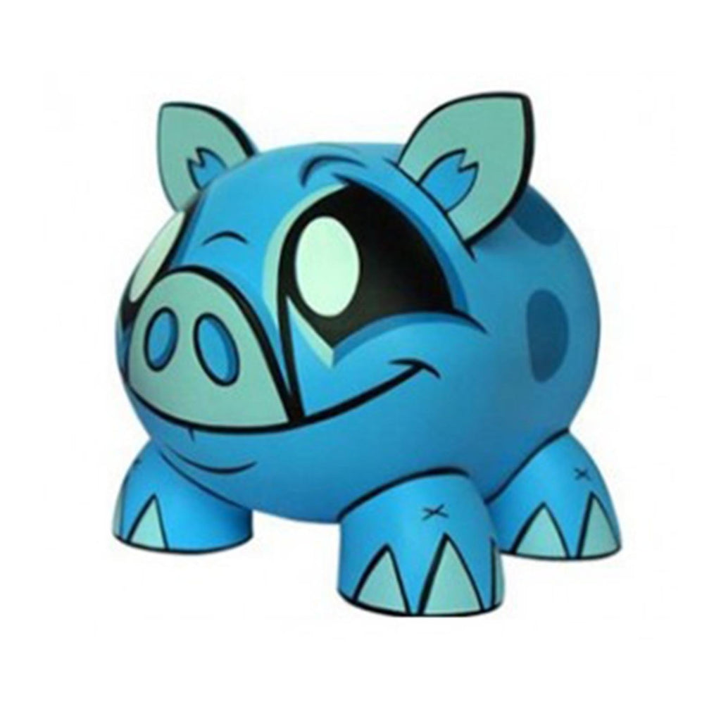 Joe Ledbetter Tirelire Piggy Bank Blue Vinyl Figure